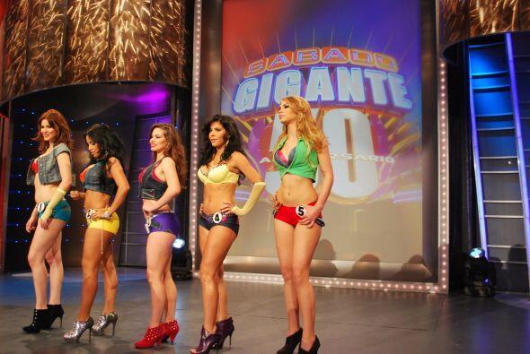 Las chicas coincidieron en la votación del público.