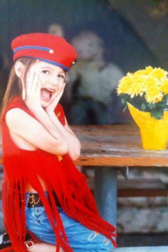 Desde muy pequeña, Nastassja  se caracterizó por ser una chiquita muy du...