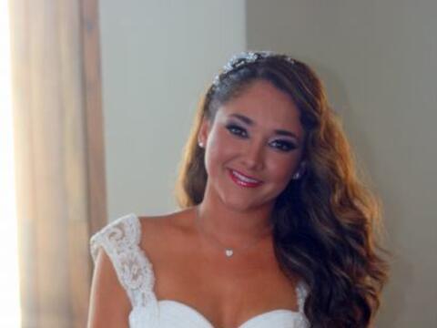 Llegó el gran día para Sherlyn, el día de su boda p...