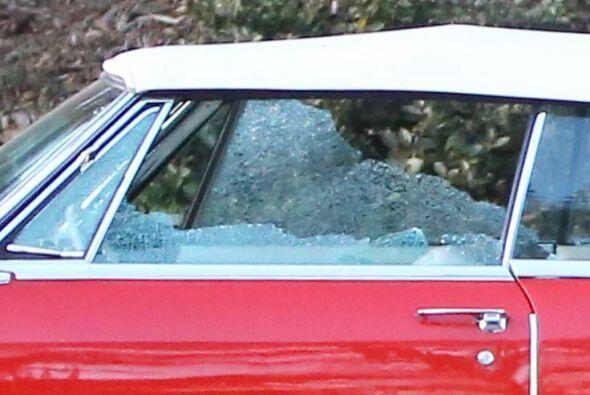 Mira cómo dejaron este lujoso Cadillac El Dorado.