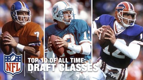 Top 10 | Las mejores generaciones del Draft de todos los tiempos