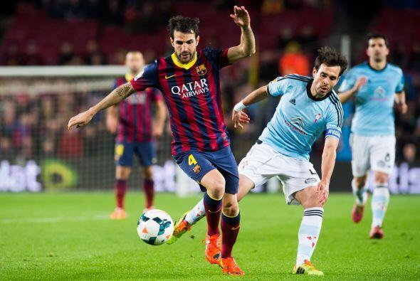 En el segundo tiempo la posesión era del Barcelona, pero los goles ya no...