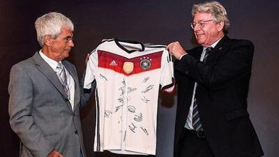 El museo del estadio Mineriao exhibirá la casaca alemana.
