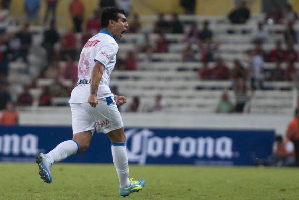 Leandro Gracián.- El argentino entró al minuto 54 y ayud&o...