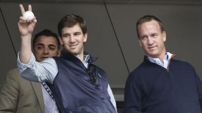 El quarterback de los Giants es amigo del legendario jugador d elos Yank...