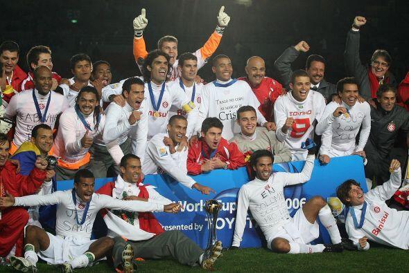 Nuevamente la Copa la ganó un equipo de Sudamérica, el Int...