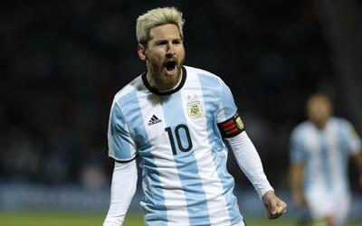 Messi marcó gol ante Uruguay en las eliminatorias mundialistas