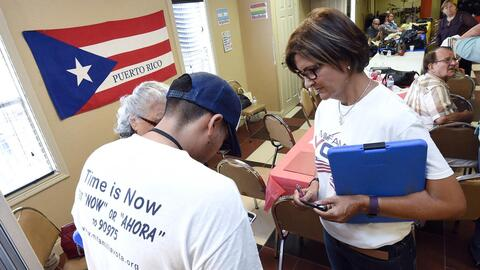 Since 2012, about 200,000 Puerto Ricans have arrived in Florida, accordi...