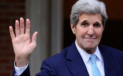 En su discurso de despedida, Kerry propone la búsqueda de acercamientos...