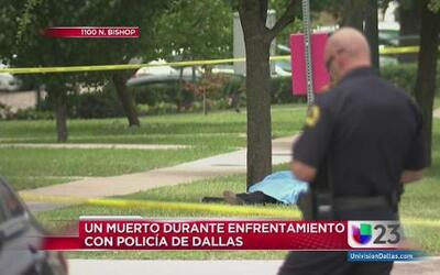 Matan a sospechoso en Dallas