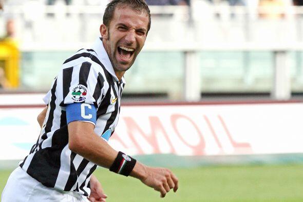 Del Piero demostró el amor a su club y fue un de los pilares para...