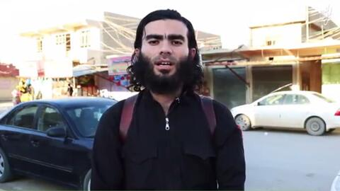 Imagen del video de ISIS