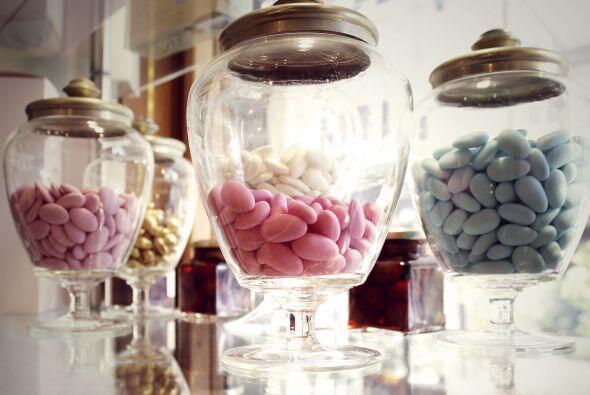 En una mesa quedan perfectos en 'bowls' transparentes y gigantes. Ser&aa...