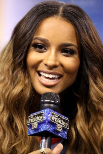 Como la cantante Ciara, que despertó muchas pasiones en el Media Day.