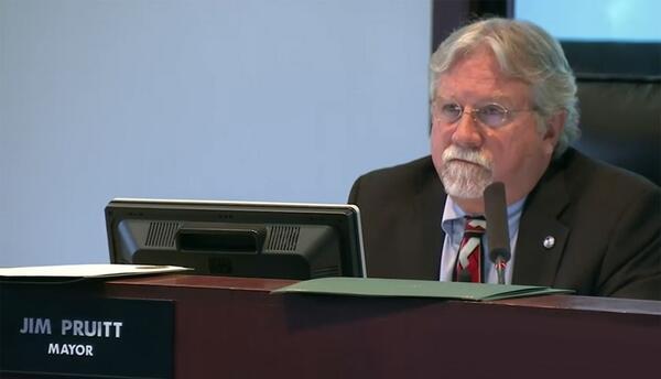 Jim Pruitt, alcalde de Rockwall, Texas