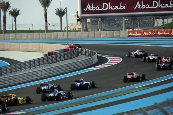 El Gran Premio de Abu Dabi lució sus mejores galas para el emocionante f...