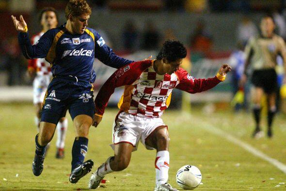En la primera jornada del Clausura 2006, San Luis perdió 2-1 con...