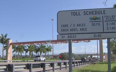 Propuesta de ley en Tallahassee busca reducir el precio de los peajes