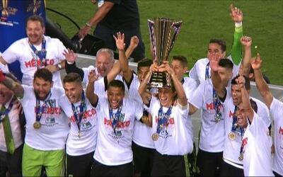 Hoy hace un año, México se coronó campeón de la Copa Oro 2015