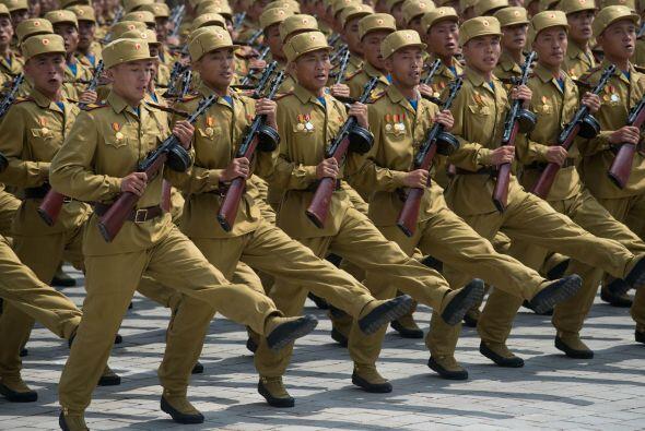 """9. Corea del Norte anunció el 30 de marzo que había entrado en """"estado d..."""