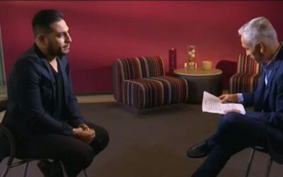 Espinoza Paz revela cómo fue su travesía para llegar a Estados Unidos