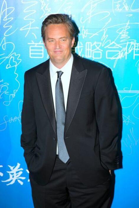 """Matthew Perry El famoso protagonista de """"Friends"""" tuvo una década de los..."""