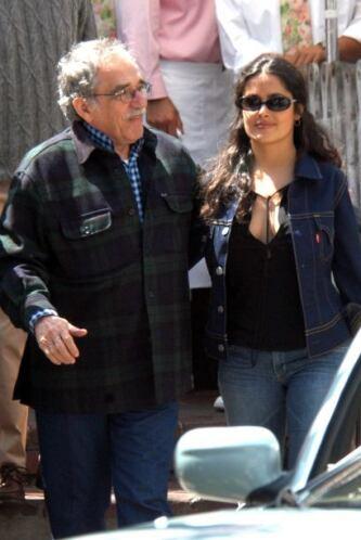 El escritor Gabriel García Márquez también tuvo una amistad con la actri...