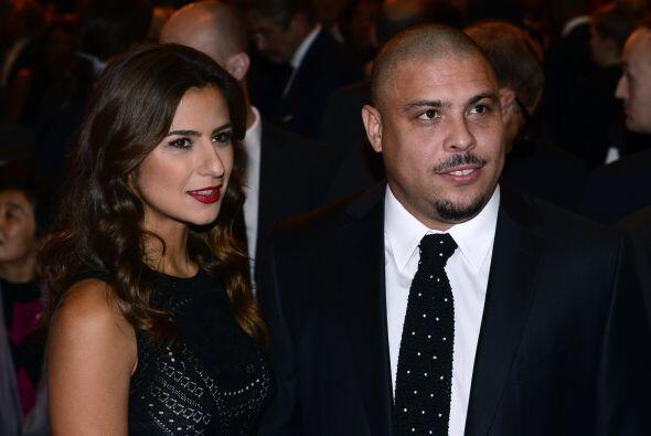 El ex futbolista brasileño Ronaldo no fue nada mal acompañ...
