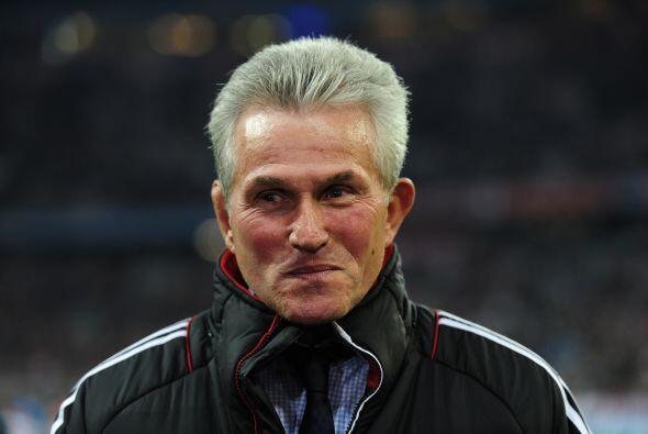El entrenador Jupp Heynckes esperaba plantear el esquema adecuado con su...