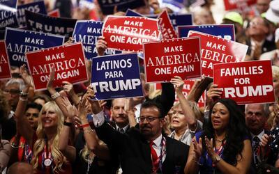 Tras el discurso más agresivo de Trump contra los inmigrantes indocument...
