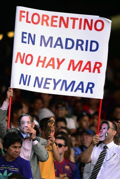 Ahora, era turno de que el Camp Nou recibiera al futbolista, incluso con...