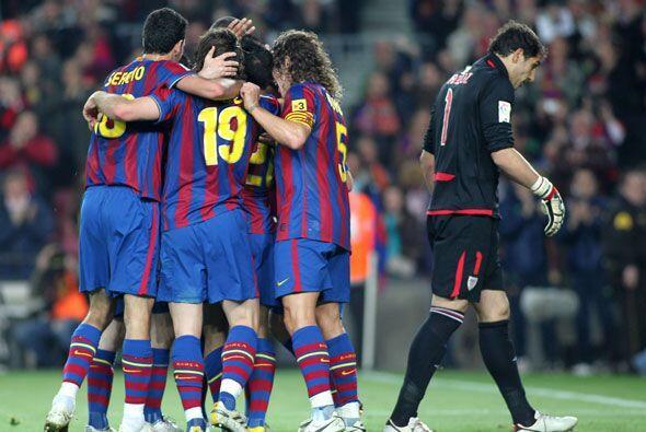 Barcelona tomó el liderato provisionalmente y ahora le queda esperar a v...