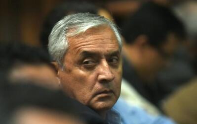 Pérez Molina y su exvicepresidenta fueron procesados por saqueo del Estado.