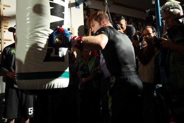 Sin duda esta es la gran pelea de su carrera, y el pelirrojo boxeador no...
