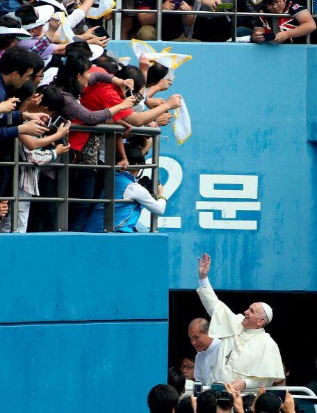 Al Papa aún le restan tres días en Corea del Sur y la emoc...
