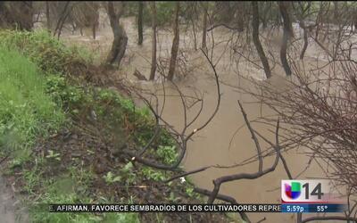 Alerta por aumento en los niveles del arroyo Coyote