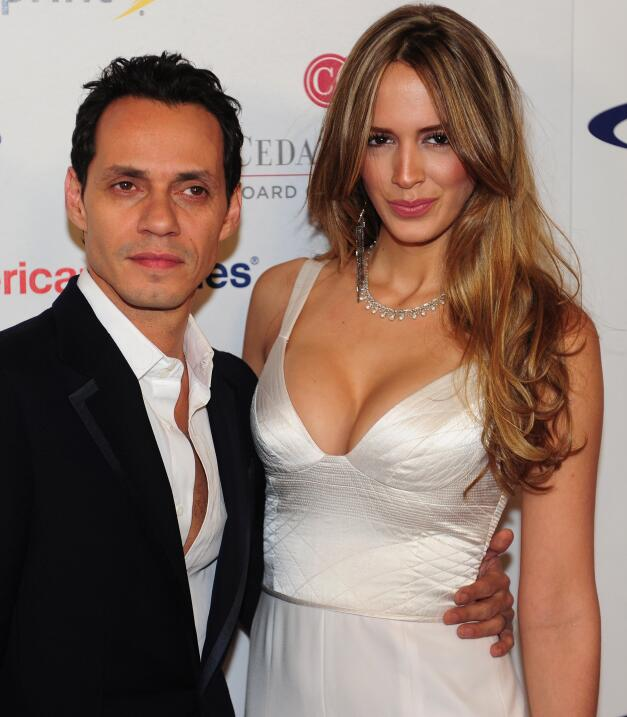 Marc Anthony y Shannon de Lima posponen su divorcio GettyImages-14493188...