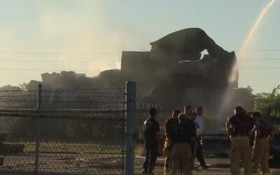 Explosión de un vagón de tren sacudió varios vecindarios en el centro de...