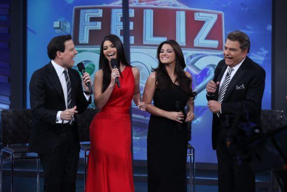Don Francisco celebró con Gloria Trevi, Mané de la Parra, Maite Perroni,...