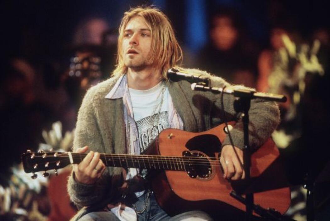 """KURT COBAIN El vocalista de la reconocida banda de """"grunge"""" Nirvana, tuv..."""