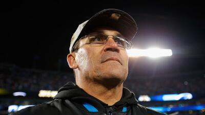 El entrenador Ron Rivera