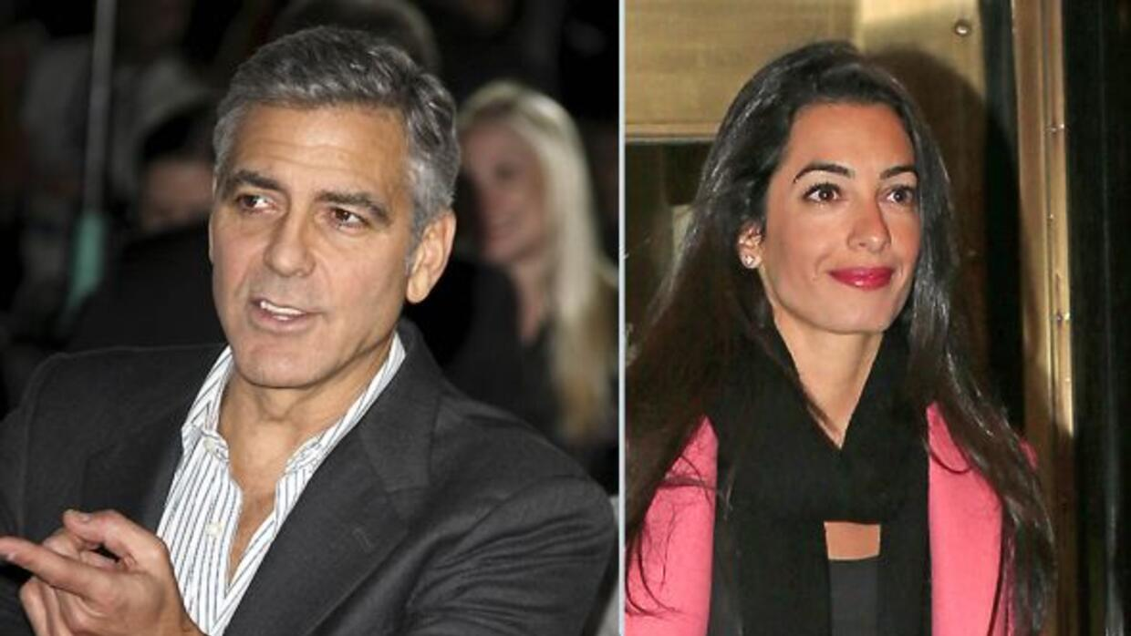 detalles del anillo de compromiso que george clooney le dio a amal alamuddin univision. Black Bedroom Furniture Sets. Home Design Ideas