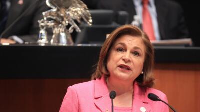 Arely Gómez, procuradora general de México, compareció este jueves en el...