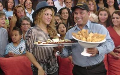 Shakira tiene antojos de embarazada ¿será? Mírala detrás de cámaras