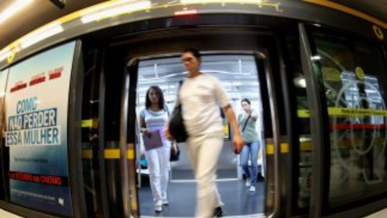 La huelga de trabajadores del Metro de Sao Paulo tiene en ascuas a los o...