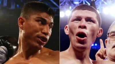 Mickey García y Román Martínez deberán pelear antes de octubre.