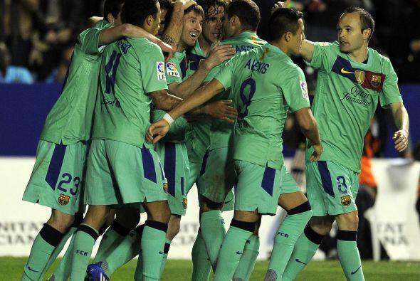 El marcador ya no cambió y Barcelona también sumó tres puntos antes de q...