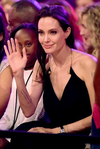 """Ella triunfó como Mejor Villana por """"Maleficent""""."""