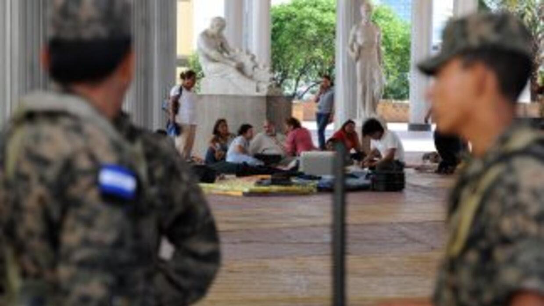 Los militares hondureños comenzaron a preparar un operativo para garanti...