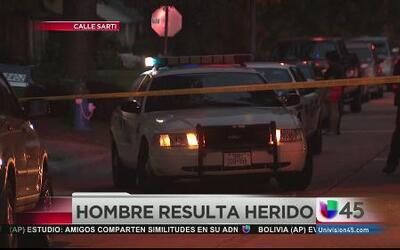 Hombre baleado durante el robo de su auto